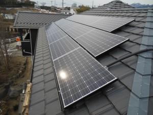 群馬県住宅用太陽光発電システム設置事例
