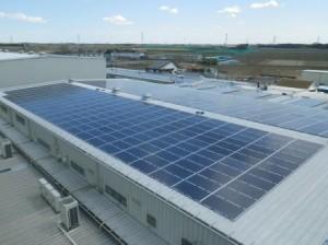 千葉県野田市産業用太陽光発電システム