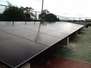 茨城県つくば市産業用太陽光発電システム