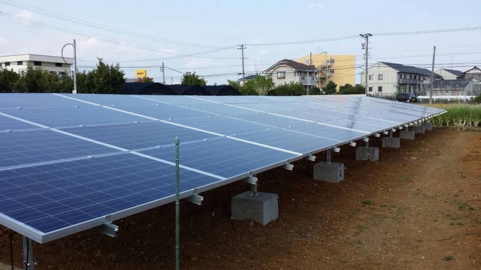 野立て太陽光発電システム