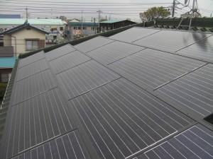 東京都足立区太陽光発電システム