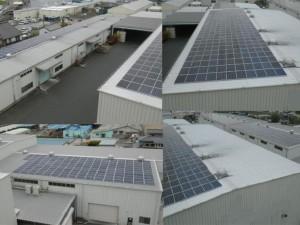 千葉県某工場 500kW太陽光発電システム設置