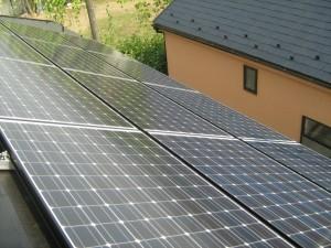 東京都府中市T様邸太陽光発電システム