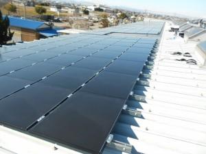 埼玉県熊谷市工場 産業用太陽光発電