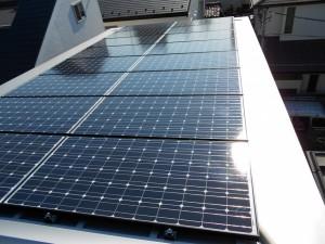 東京都中野区太陽光発電