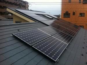 東京都大田区 集合住宅太陽光発電システム
