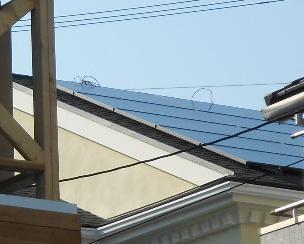 東京都大田区 パナソニック5.59kW太陽光発電システム