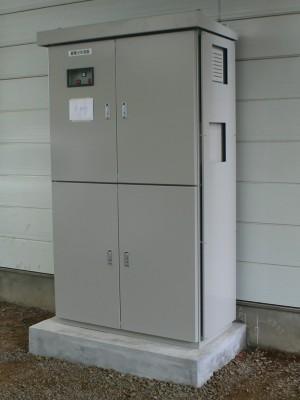 蓄電池システム設置