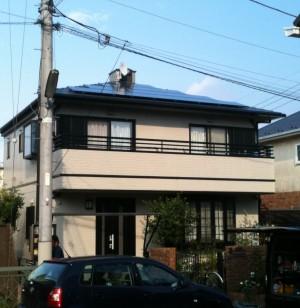 東京都世田谷区Y様邸太陽光発電システム
