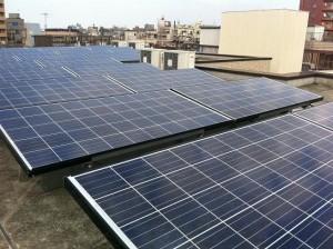 太陽光発電システム(東京都墨田区マンション)