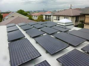 東京都多摩市太陽光発電
