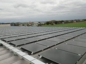 群馬県館林市工場 太陽光発電システム設置