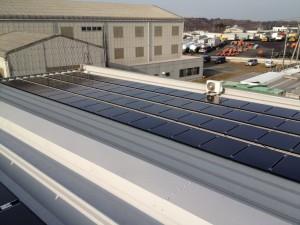 茨城県東海村 太陽光発電
