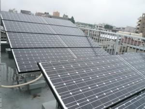 太陽光発電システム工事完了