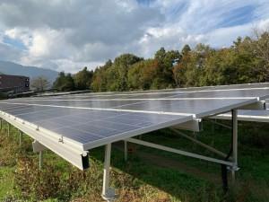 長野県南箕輪村太陽光発電所