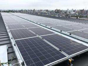 東京都北区 オフィスビル 太陽光発電
