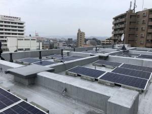 神奈川県相模原市 マンション太陽光