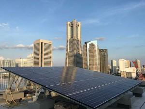 神奈川県横浜市 花咲町ビル 太陽光システム